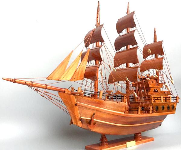 Ý nghĩa của thuyền buồm là chúc mọi sự suôn sẻ
