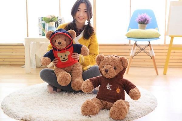 gấu bông đôi dễ thương