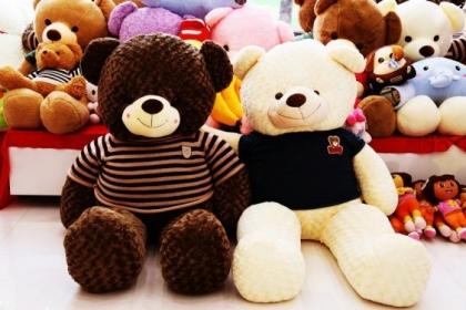 5 lý do cực chuẩn để một cô nàng yêu thích gấu bông