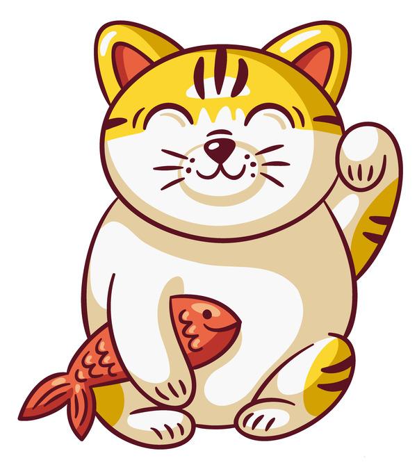 Chú mèo đáng yêu này đang vẫy tay chào bạn đây