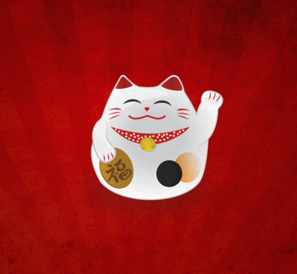 Không chỉ chưng mèo Maneki Neko tại nơi kinh doanh, làm việc… người ta còn dùng nó làm hình nền điện thoại với mong muốn mang lại may mắn.