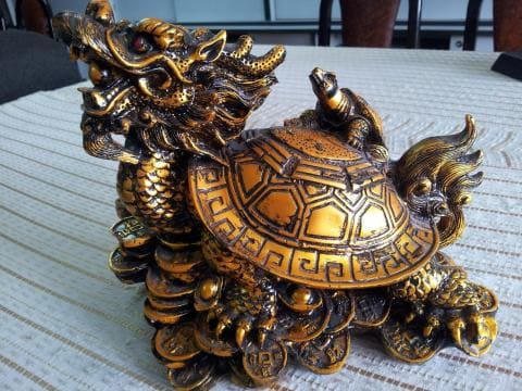 Long Quy là sự kết hợp giữa Rùa và Lân