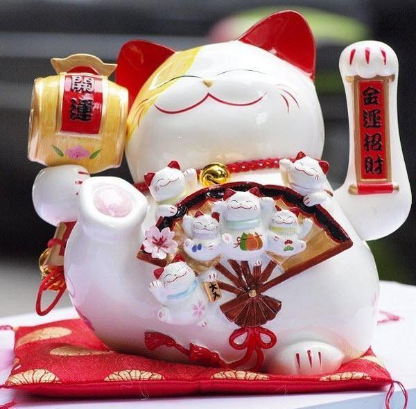 Mèo thần tài wallpaper tinh nghịch đáng yêu giúp bạn thấy yêu đời hơn