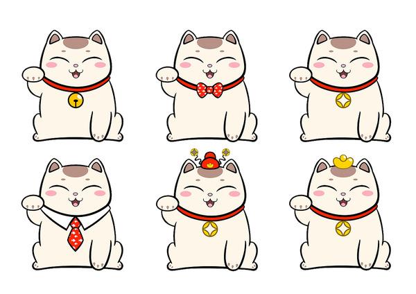 Những chú mèo đáng yêu với những họa tiết ngộ nghĩnh