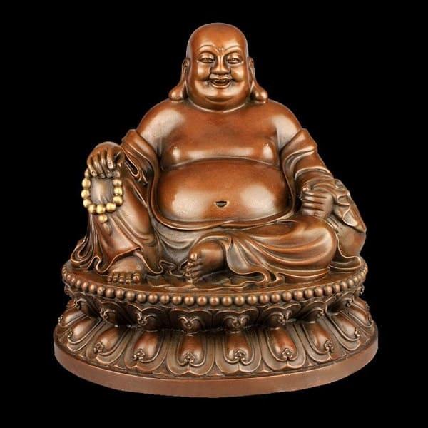 """Tượng """"Phật Cười"""" mang đến hình ảnh ấm no, hạnh phúc"""
