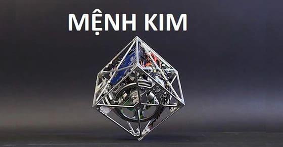vật phẩm phong thuỷ cho người mệnh Kim