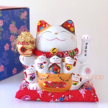 Mèo Vẩy Tay 16cm 50220