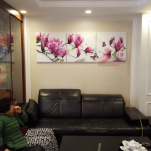 Tranh Hoa Mộc Lan HL0178