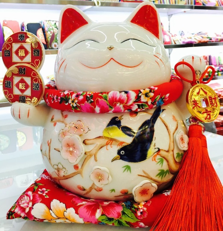 Mèo Thần tài 24cm H50075
