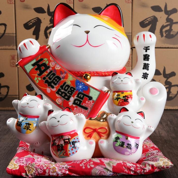 Mèo tay sứ H50091