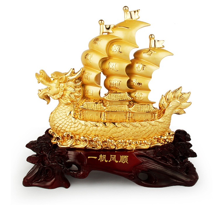 Thuyền Rồng Vàng H30019