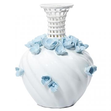 Bình hoa sứ trắng