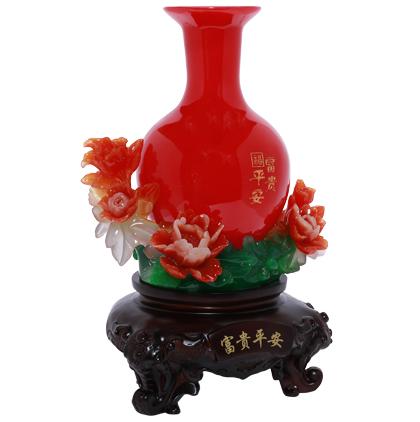 Bình Tài Lộc Đỏ H10119
