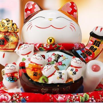 Mèo Thần Tài 26cm H20209