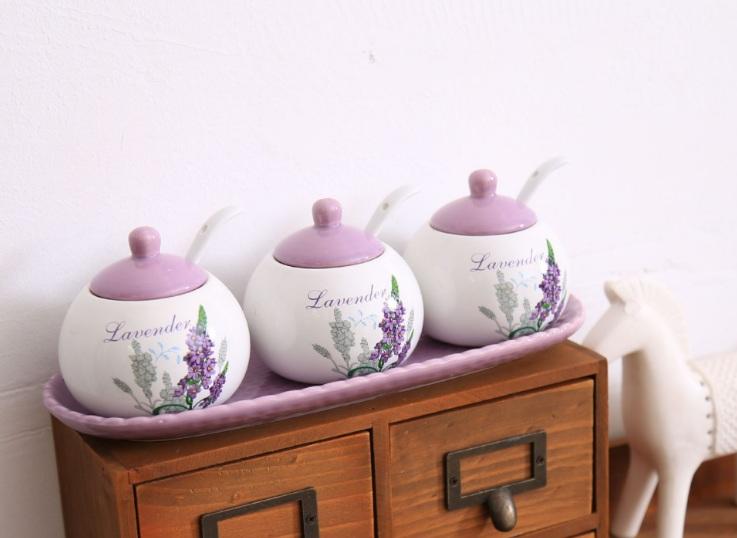 Đựng gia vị Lavender VT22