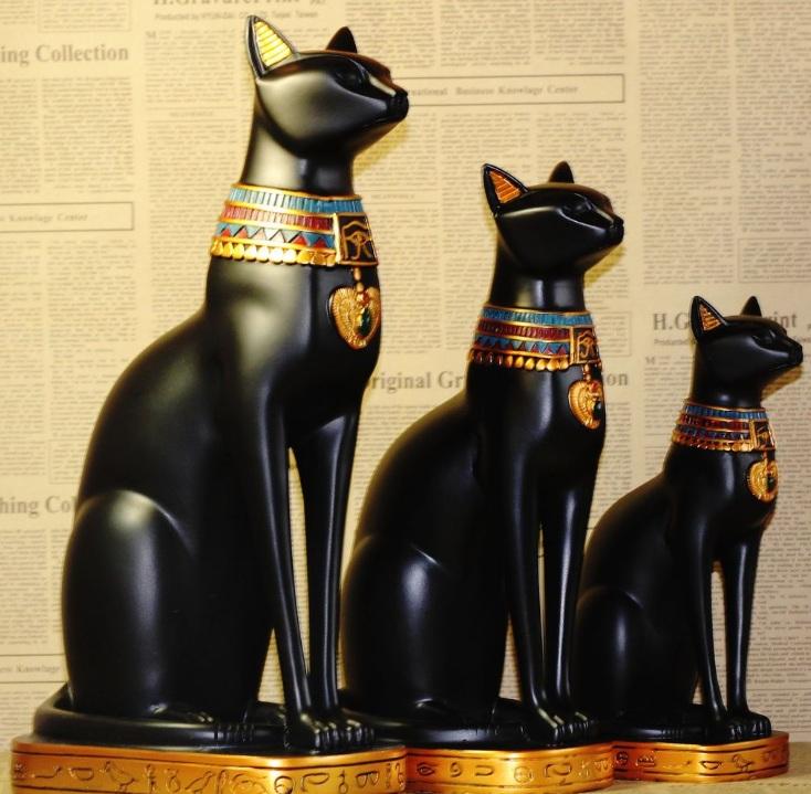 Tượng mèo ai cập VT09