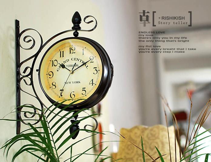 Đồng hồ treo tường 2 mặt VT35