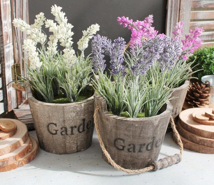 Chậu hoa giả Garden vintage VT75