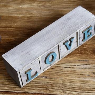Hộp gỗ chữ love VT119