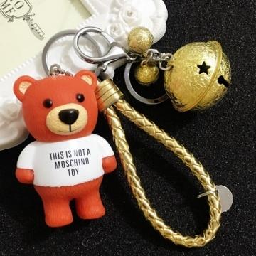 Móc khóa hình gấu cam MK114