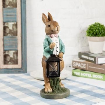 Thỏ xách đèn xanh VT59