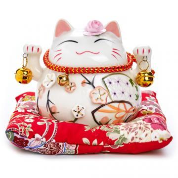 Mèo tay sứ 13cm H50008