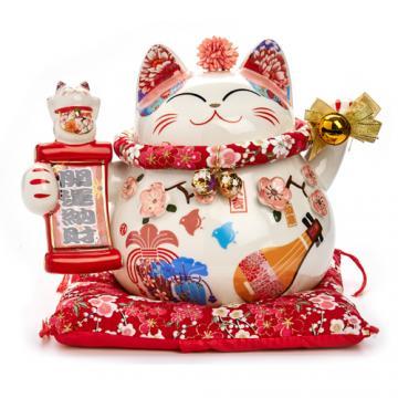 Mèo tay sứ H50157