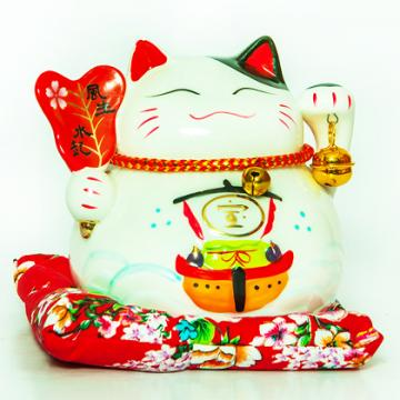 Mèo Thần Tài 13cm H50013