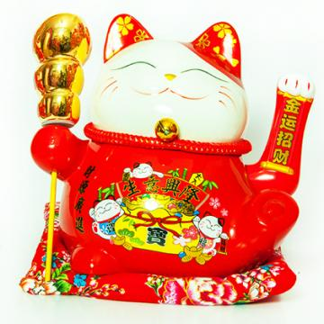 Mèo Vẩy tay 23cm H50178