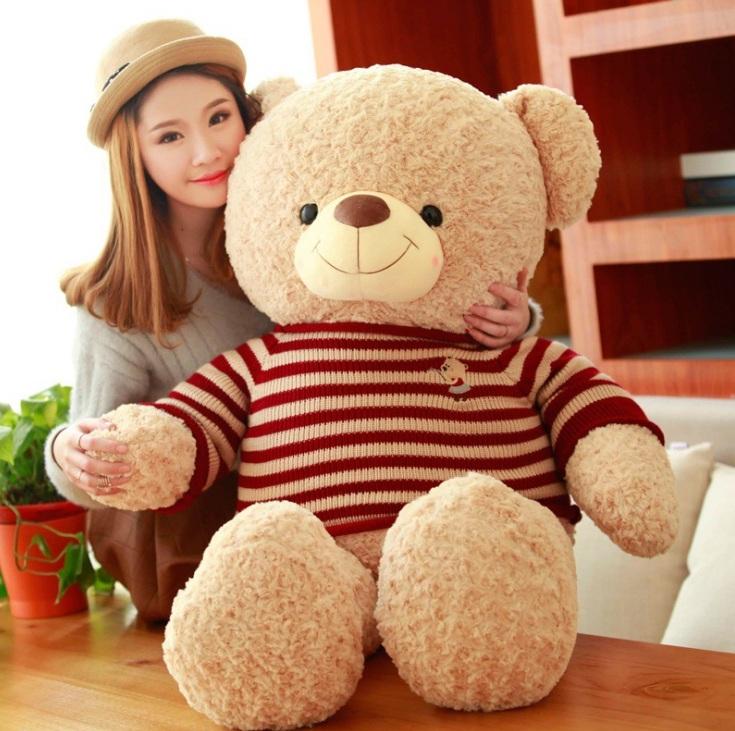 Gấu bông Teddy là món quà chưa bao giờ hết hot