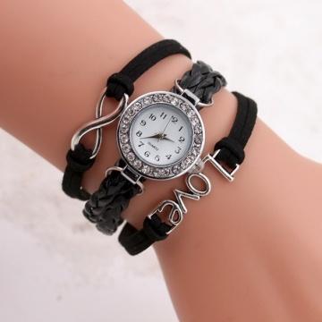 Đồng hồ dây chữ Love DH122