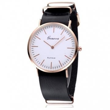 Đồng hồ Geneva đen DH101