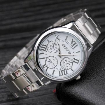 Đồng hồ Geneva la mã dây sắt DH124