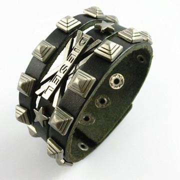Vòng đeo tay bằng da LL38