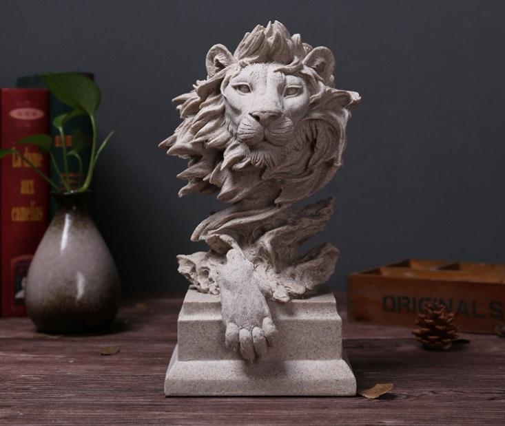 Tượng đầu sư tử VT140