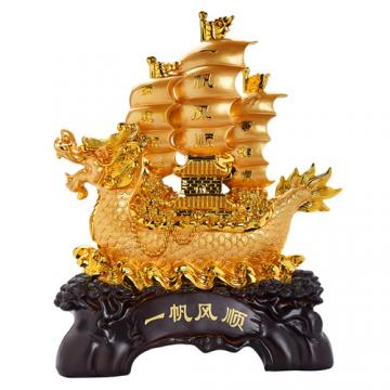 Thuyền rồng vàng H40094