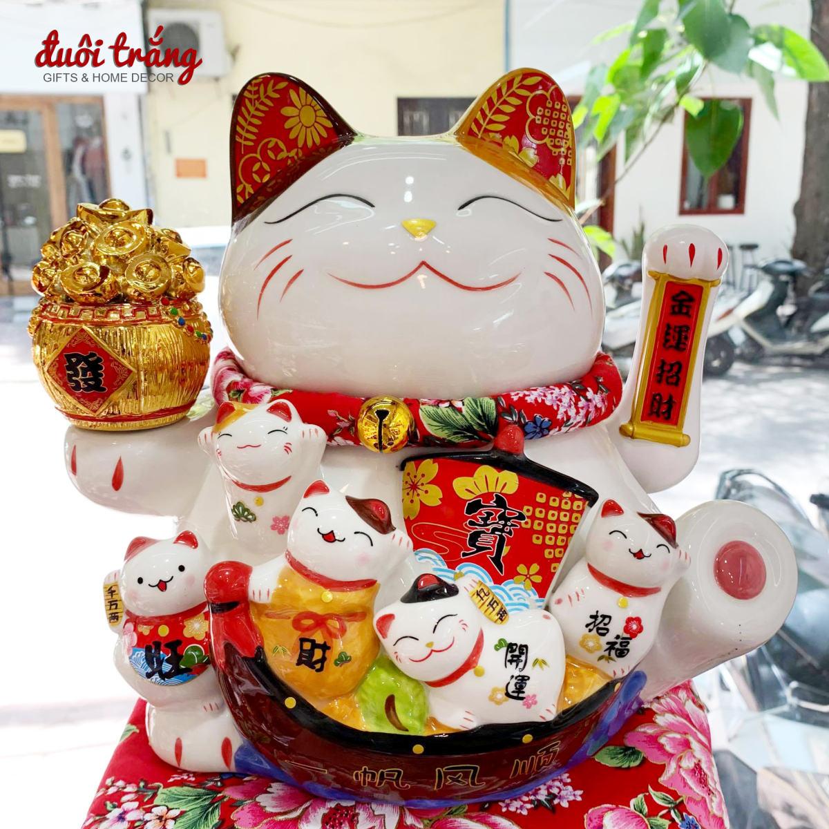 Mèo Vẩy Tay 26cm H50240