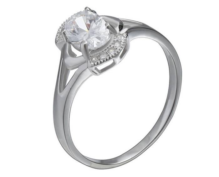 Nhẫn bạc nữ MSR00326
