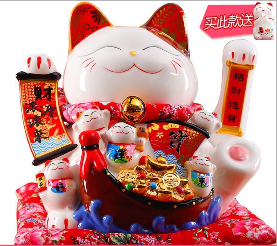 Mèo vẩy tay  36cm H50187