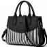 Túi xách sọc đen trắng TX3743