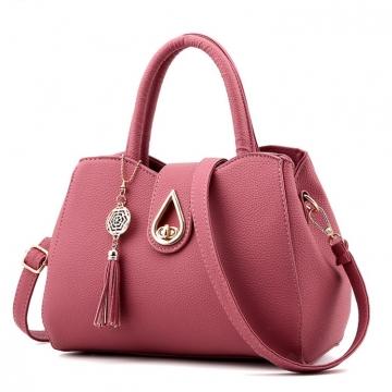 Túi xách nữ hồng cánh sen TX3120