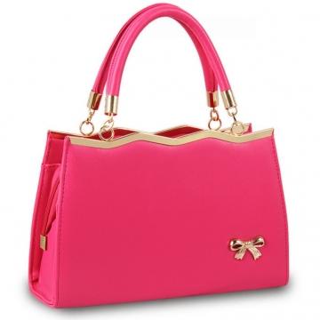 Túi xách nữ màu hồng TX3028