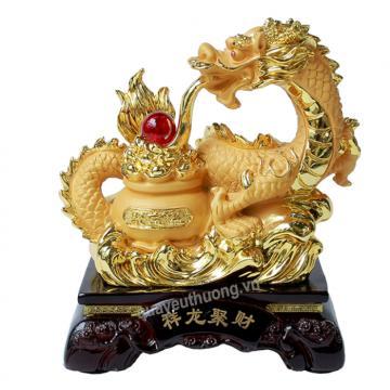 Rồng Phong Thủy 23cm H40136