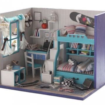 Nhà mô hình DIY My Blue Dream