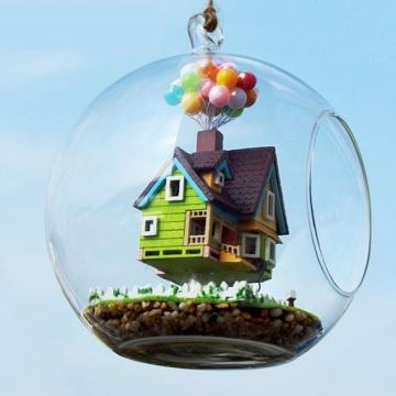 Nhà mô hình DIY ngôi nhà trên không bóng bay