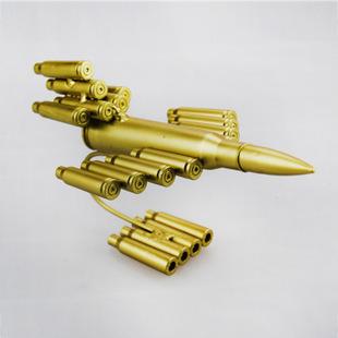 Máy bay mô hình làm từ vỏ đạn MB003
