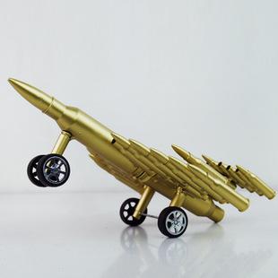 Máy bay mô hình làm từ vỏ đạn MB004