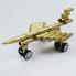 Máy bay mô hình làm từ võ đạn MB001