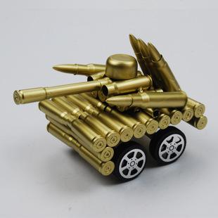 Xe tăng mô hình làm từ vỏ đạn XT003
