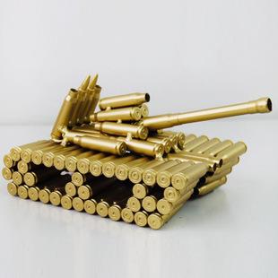 Xe tăng mô hình làm từ vỏ đạn XT001